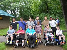photo from MDA Summer Camp